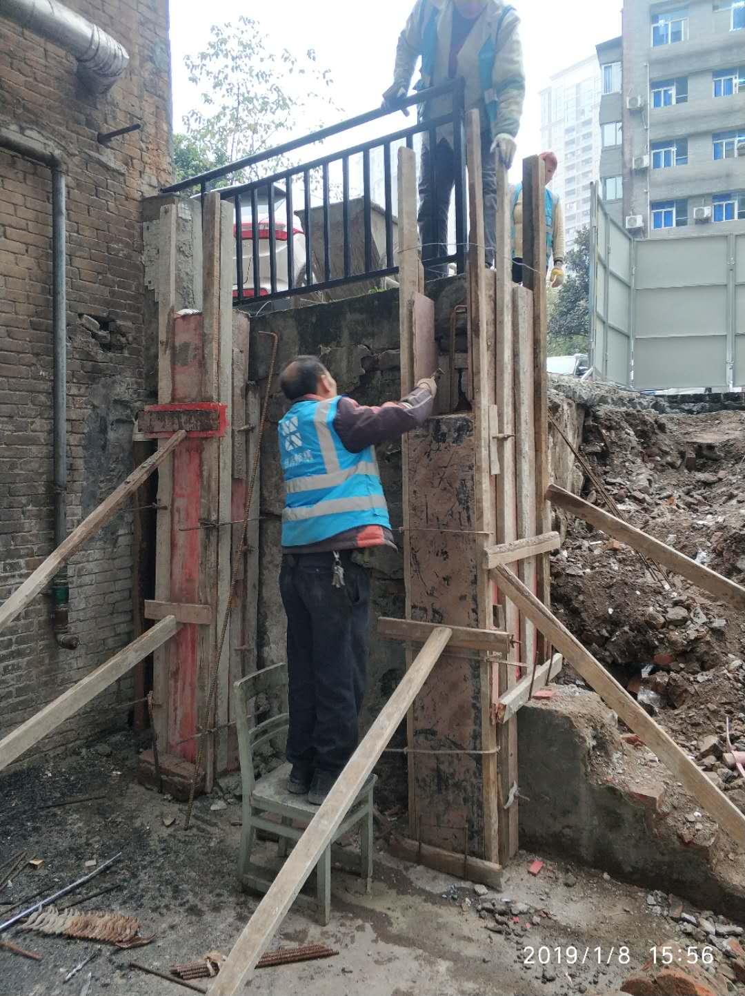 红十字会医院前庭、后庭改造工程